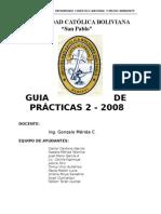 Guia de Practicas 2-2008 Final