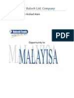 Report Over Haleeb Ltd
