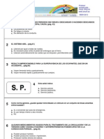 Test Profesor de autoescuela - Fase previa