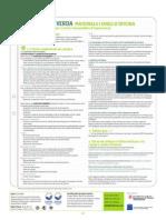 Fitxa CV Materials i eines d'oficina (excepte productes en paper i cartró i consumibles d'impressora)