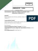 9. PROSES DAN TINDAKAN DALAM ASPEK–ASPEK PERENCANAAN KAMPANYE PR - 01