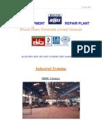 Bhel Herp Project Report
