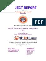 Tranining Report of Piyush Trivedi