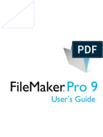 Fmp9 Users Guide