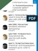 iglidur bearings-Standards
