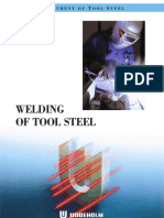 Welding of Tool Steel