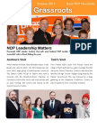 The Grassroots - Brant NDP Newsletter - Summer 2012