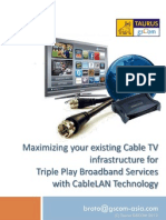 Maximizing Your Coaxial (Cable TV) V2-2