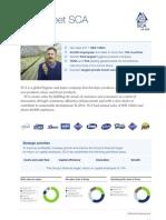 SCA Factsheet 2011