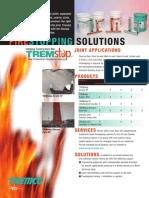 Tremco Firestop for Joints in Dubai, UAE