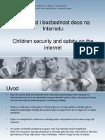 Sigurnost I Bezbednost Dece Na Internetu