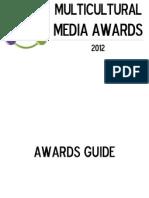 2012 Multicultural Media Awards - Awards Guide