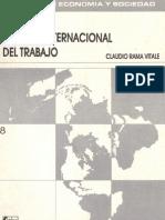 Libro - La Nueva Division Internacional del Trabajo - Claudio Rama