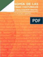 Libro - Economía de las industrias culturales en la globalizaciòn digital - Claudio Rama