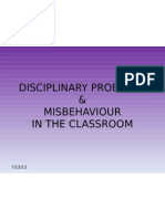 Topic 5-Disciplinary Problems