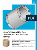 Zero Clearance and Pre-Tensioned Bearings