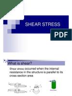 Chapter 3 Shear Stress