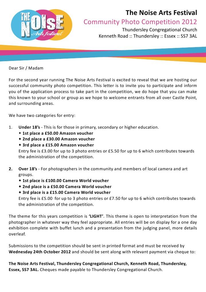Photo competition club letter 2012 photograph voucher stopboris Image collections