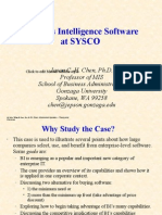 BI Software at SYSCO