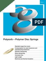 Polysorb – Polymer Disc Springs