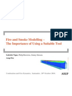 Fire and Smoke Modelling – The Importance of Using a Suitable Tool - Vigne