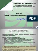 Curso de investigación científica en salud - Módulo V y Módulo VI