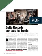Gotta  Records Observateur Monaco