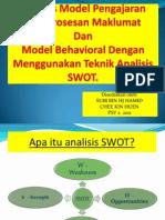 Analisis Swot Dalam Model Pengajaran Pemprosesan Maklumat Dan Model Behavioral