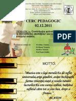 Cerc Pedagogic 02.12.2011