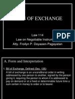 2012 June 15.Bills of Exchange