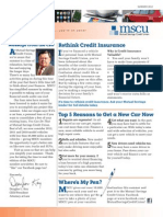 MSCU Summer 2012 Member Newsletter