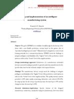 Diseño e  Implementación de Sistemas Inteligentes de Manufactura