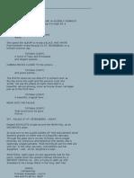 Anastasia Original Script (Draft) - Fox 1997