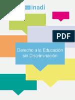 Derecho a la Educación sin Discriminación