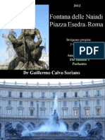 Fontana delle Naiadi a Piazza Esedra - Roma