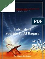 Tafsir de La Sourate 2 Baqarah (La Vache)