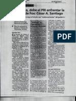 15-07-2002 Sin tibieza, debe el PRI enfrentar la derecha de Fox