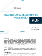Radiografía religiosa de Venezuela - Jesús María Aguirre
