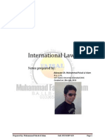 International Law Handouts