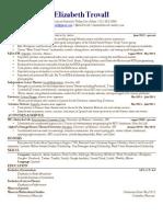 Elizabeth Trovall Resume 7.12.12
