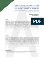 Análise do perfil epidemiológico dos clientes do Centro de Atenção Psicossocial para Álcool e outras Drogas (CAPS-AD) de Sobral-CE