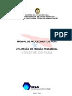 Manual Pregao Presencial Procedimentos