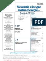 Semanario Católico Alfa y Omega. nº 794. 12 Julio 2012