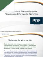 Introducción al planeamiento de sistemas de información gerencial