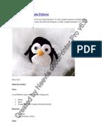 Amigurumi Penguin Pattern