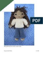 Basic Crochet Doll AranSweater