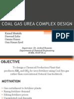Coal Gas Urea Complex Design