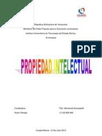 Propiedad Intelectual 1