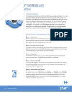 EAA Backup Recovery One-pager