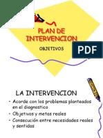 Plan de Intervencion